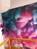 Pintor y papel pintado - foto