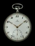 Reloj antiguo omega de bolsillo - foto