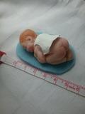 Bebé reborn de fimo - foto