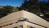 Estructuras y tejados de madera - foto