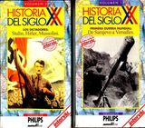 5 videos vhs-historia siglo xx - foto