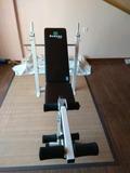 banco de musculacion + pesas - foto