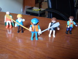 Lote de figuras playmobil - foto