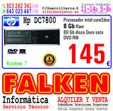 hp compaq DC7800 8Gb ocasión - foto