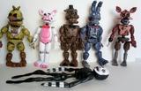 6 muñecos Five Nights and Freddy\\\\\\\\ - foto