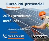 CURSO 20 H PRL ESTRUCTURAS METÁLICAS TPC - foto