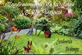 Mantengo bonito su jardín - foto