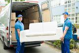 Transporte y guardar mercancias - foto