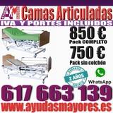 CAMA ARTICULADA ELECTRICA TODO INCLUIDO - foto