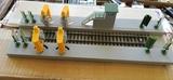 limpiador de trenes ho - foto