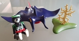 playmobil 4801 - manta gigante - foto