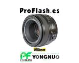 Objetivo Yongnuo 50mm - Apertura F1.8 - foto