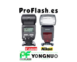 Flash con TTL y HSS - Yongnuo YN685 - foto