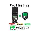 Flash YN-560III + controlador YN-560TX - foto