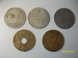 posavasos pesetas metal - foto