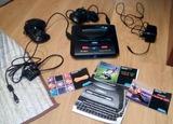Sega Mega Drive II y Juego - foto