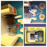 Cafetera con juego cafe de juguete - foto
