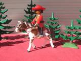 Playmobil  mexiicano a caballo - foto