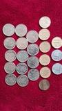 Monedas españolas.rey juan c.y franco - foto