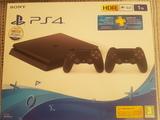 Playstation 4 Slim 1TB + 2 Mandos +Juego - foto