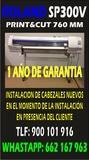 Plotter roland sp300v 1 aÑo de garantia - foto