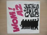 wom! a2 vinilo single 1986 justicia - foto
