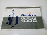 Instrucciones originales Sankyo dualux - foto