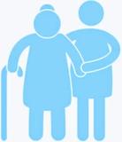 cuidado o compañía a personas mayores - foto