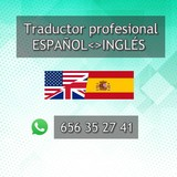 TRADUCTOR PROFESIONAL ESPAÑOL < > INGLÉS - foto