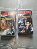 2 contas vhs james bond 007 - foto
