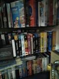 lote de 500 cintas  vhs de películas - foto