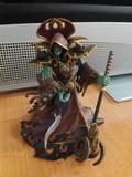 Figura wow undead warlock - foto