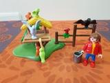 playmobil 4203 - niña con nido - foto