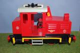 Locomotora y vagones PLAYMOBIL con trafo - foto