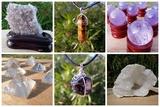 Minerales, joyas, inciensos, amuletos, . - foto