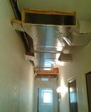 Conductos de fibra para aire acondiciona - foto