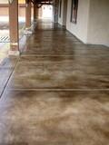 Pavimentos de hormigon liso y estampado - foto