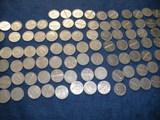 Lote de 50 monedas de 50 céntimos de Fra - foto