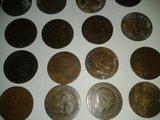 lote de 94 monedas de cobre - foto