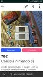 Consola Nintendo DS y 2 tarjetas r4 - foto