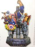 Avengers Vengadores Guantelete numerada - foto