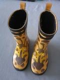 Botas de lluvia niño jirafa - foto
