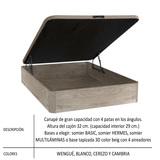 OFERTA DE CANAPE 3D 150* 190 - foto