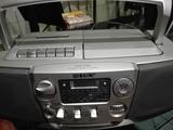 Sony, Radio, CD y Cassette . - foto