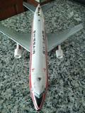avión dc10 de chapa swissair - foto