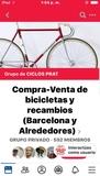 grupo para compraventa de bicicletas - foto