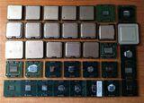lote de 50 procesadores intel 775 - foto