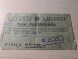 billete de loteria nacional - foto