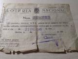 Loteria nacional 1949 - foto