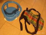 Carrito Mochila Bebé accesorios asiento - foto